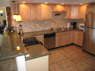 Kihei condo photo - Beautiful Deluxe open kitchen plan.