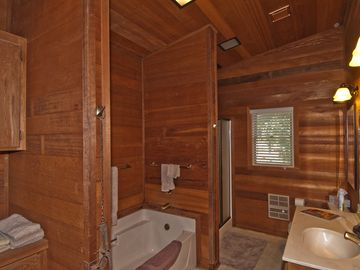 Guest Bath, with separate tub and shower
