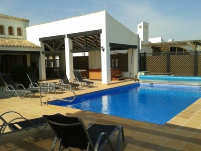 Two 5 Star 3 Bed Villas (sleep 8 each) with Pool and Golf view