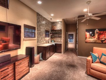 Upstairs Game Room Wet Bar