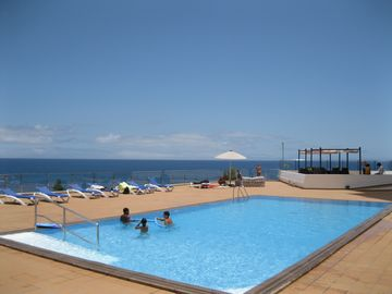 The pool and the ocean
