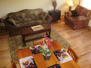 Blairsville cabin photo - Living area