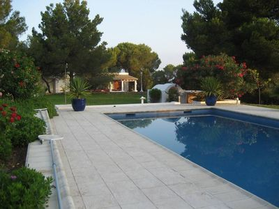 Air-conditioned accommodation, 500 square meters, close to the beach