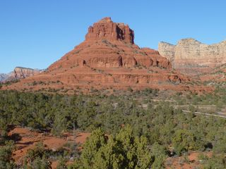 Sedona house photo - Bell Rock in the VOC on Hwy. 179 (same size as the Great Pyramid)