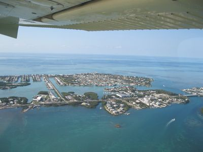 Flying over the Florida Keys!