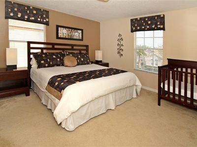 Haines City villa rental - Upstairs Master bedroom