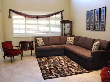 Tucson house rental - Living Room with brand new furniture