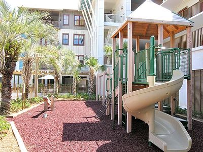 Blue Mountain Beach condo rental - Childrens Playground Area Next to Pool