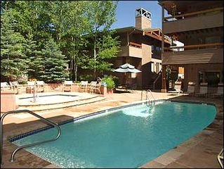 Aspen townhome photo - Large Heated Pool