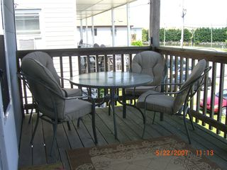 Vacation Homes in Ocean City condo photo - Eat outside or just enjoy the view from your porch