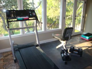 San Antonio house photo - Workout Room overlooking Pool and City