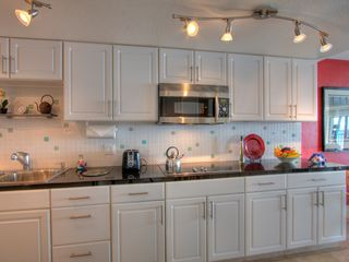 Maalaea condo photo - Modern kitchen with all the bells and whistles.