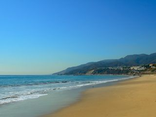 Malibu villa photo - Just steps from our Villa to this Beach where Baywatch was filmed!