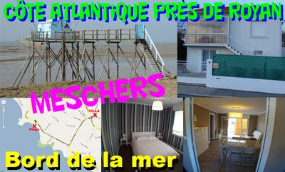 Completely renovated villa 3 minutes from the beach near Royan