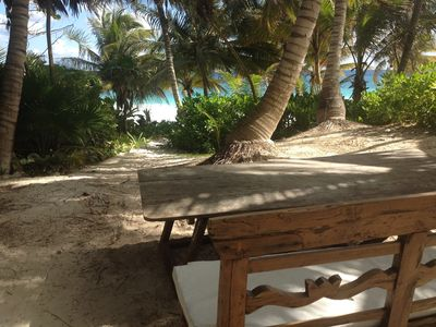 2 Bedrooms Guest House Beach Front In Tulum