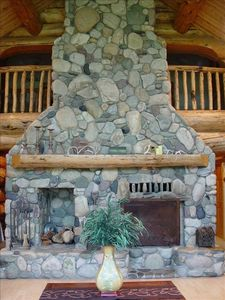 Great Room fireplace.