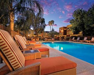 Old Town Scottsdale condo photo - Pool area with great pool chairs