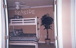 Vacation Homes in Ocean City condo photo - Bedroom 3 with Pyramid Bunk (Twin over Full), Seaside Escape, Ocean City, MD