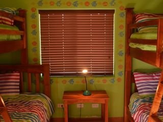 Pochomil house photo - Large bedrooms with bunk beds for the entire family with ocean view.