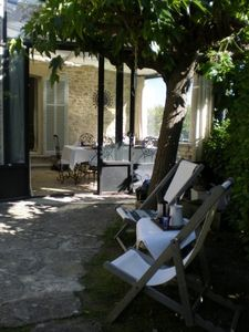 Gordes --  Stonehouse for TWO. Walking distance of Gordes. No pool. No smoking.