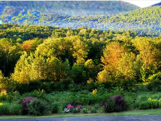 Tannersville farmhouse photo - The Garden View.