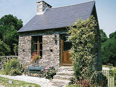 Traditional Stone Built Cottage Set In Wooded Valley, No Neighbours, Beach 30min