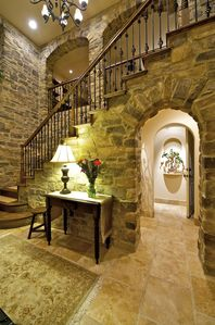 Rancho Santa Fe house rental - Formal entry, Spanish Parador Style...