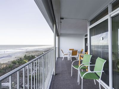 English Towers 308, 100th St. Ocean Front Non Group Rental