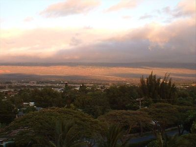 Sunrise views of Haleakala from your private Lanai