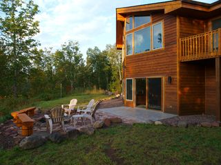 Lutsen lodge photo - Beautiful Timberframe home located on Jonvick Creek.