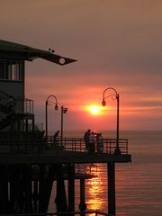 Santa Monica apartment photo - Sunset on Santa Monica Pier