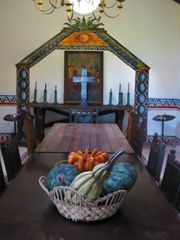 Tepoztlan estate photo - Chapel hand painted by L. Aurilia