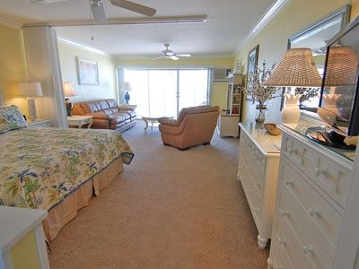 Elegantly furnished in Florida colors throughout.