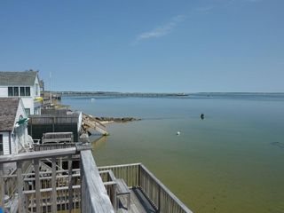 Provincetown condo photo - From the deck on calm day at high tide