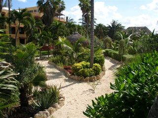 Isla Mujeres condo photo - Tropical Gardens