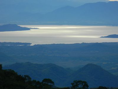 Fill your eyes with beauty:  The Gulf of Nicoya from your balcony