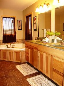 Master Bathroom with Whirlpool