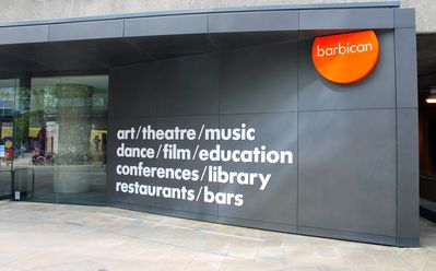 The Barbican Arts Centre around the corner