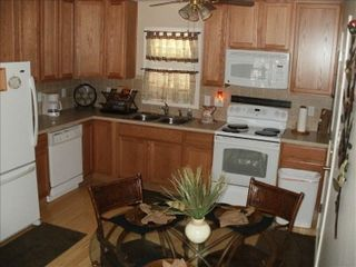 St. Johns house photo - Fully equipped kitchen, bamboo floors throughout......