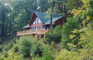 Blue Ridge cabin photo - Lakeview Lodge
