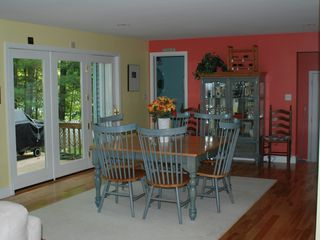 Casco house photo - Large Dining Room just off kitchen