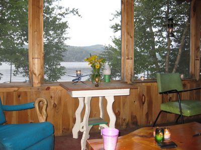 Large Cabin on Beautiful Embden Lake - Great for Two Families