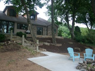 Branson house photo - Enjoy the evening by the fire pit.