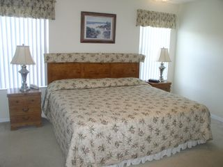Terra Verde townhome photo - King size Bed