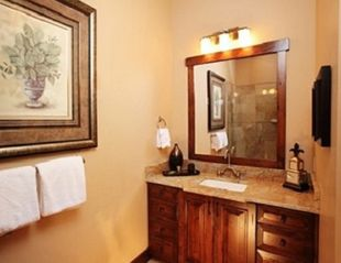 The Canyons townhome photo - Master bath lavatory and vanity