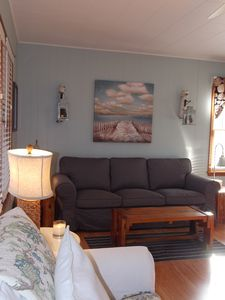 Harbor Beach cottage rental - Living Room