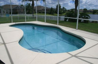 Solar Heated Pool and Pool Heater for the cooler months, peaceful, perfect views