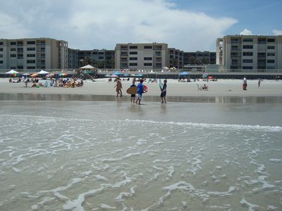 New Smyrna Beach condo rental - Our guests enjoying every day. This could be you too!
