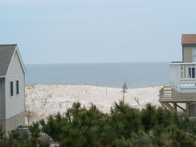 North Beach Haven house rental - Great views from the rear deck...