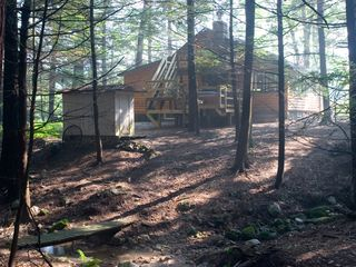 Bushkill cabin photo - View from Creek and trails